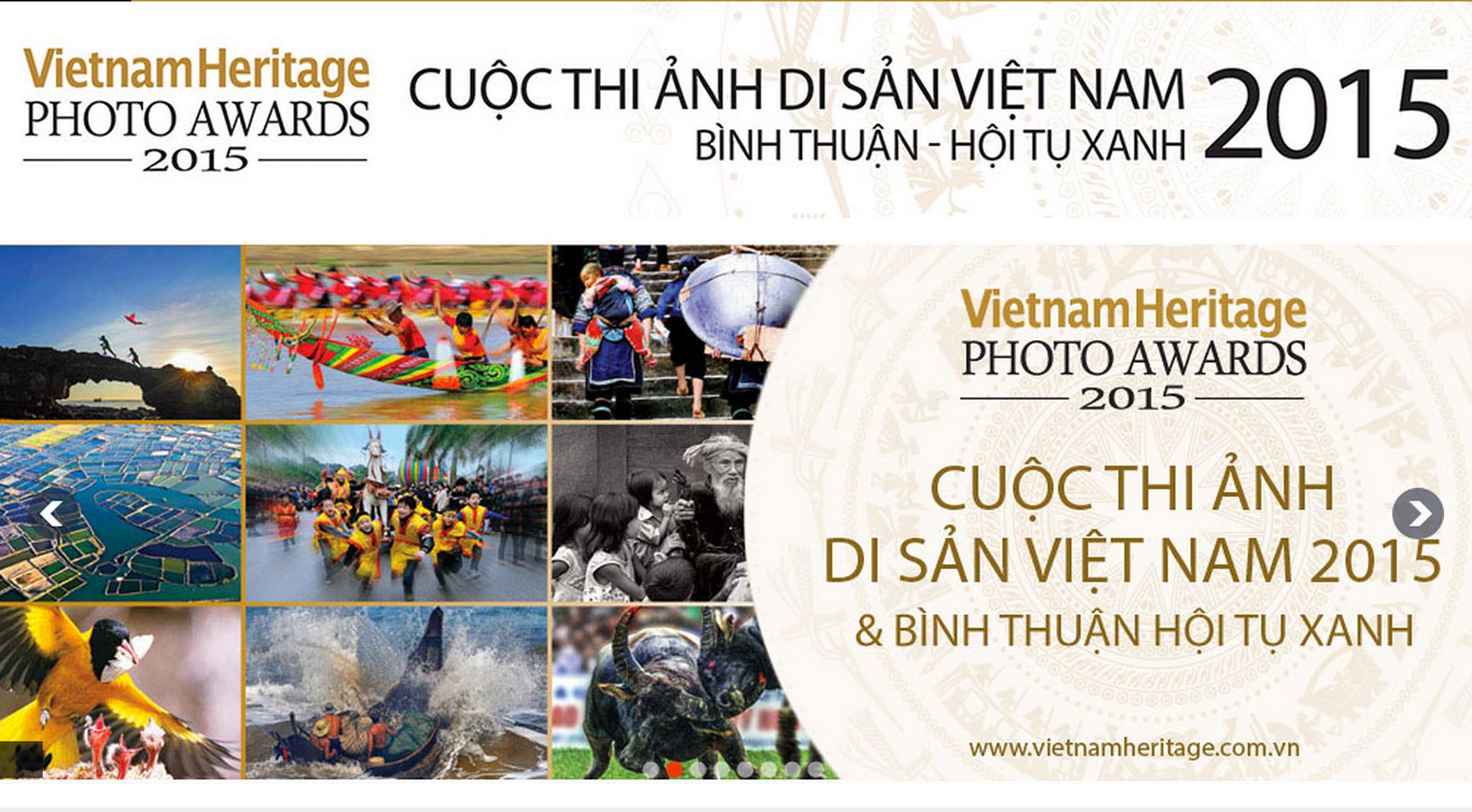 Cuộc thi ảnh Di Sản Việt Nam 2015 - Bình Thuận hội tụ Xanh