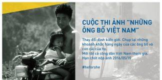 Cuộc thi ảnh những ông bố Việt Nam