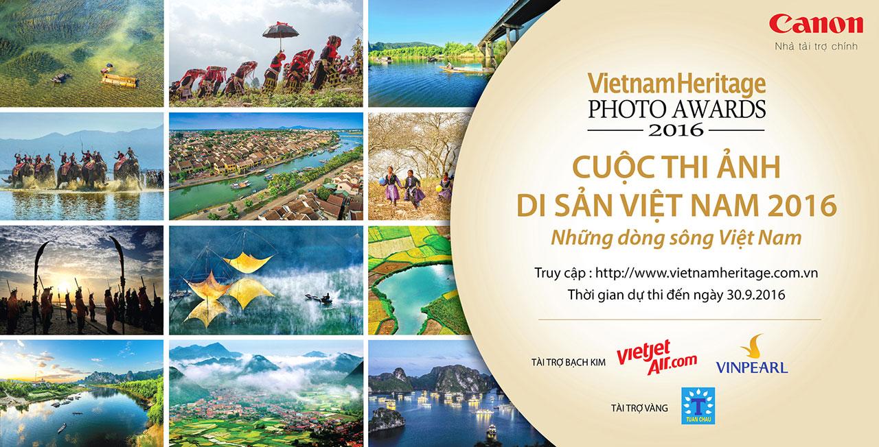 Cuộc thi ảnh Di sản Việt Nam 2016 - chủ đề những dòng sông Việt Nam