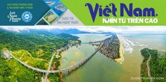 Vietnam nhìn từ trên cao - Ảnh chụp màn hình website cuộc thi.