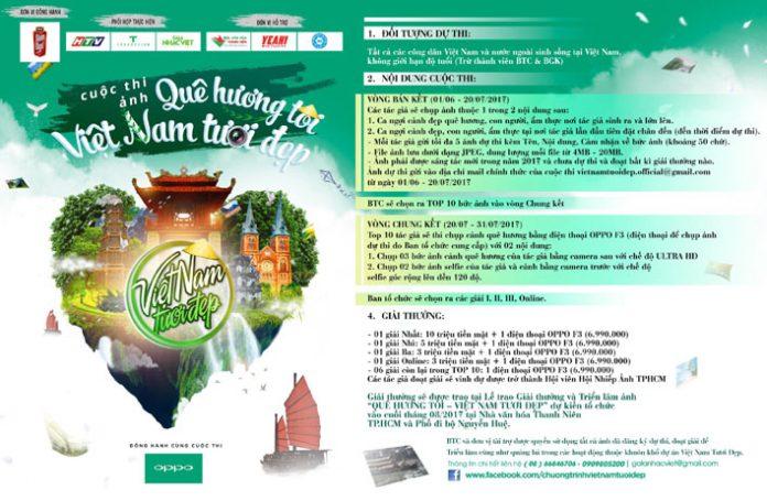 Cuộc thi sáng tác ảnh về Văn hóa – Du lịch – Ẩm thực Việt Nam mang tên Quê Hương Tôi – Việt Nam Tươi Đẹp