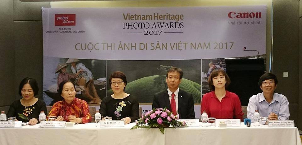Lễ phát động cuộc thi ảnh Di Sản Việt Nam 2017 sáng nay